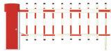 De populaire Barrière van de Boom, de Automatische Poort van de Barrière: BS-206 (AC/GELIJKSTROOM)