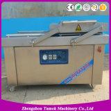Máquina de empacotamento automática do alimento do vácuo da câmara dobro para o restaurante