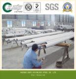 ASTM 201 tubo inconsútil del acero inoxidable 202 304