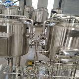 Mini usine d'acier inoxydable pour la bière faisant le système