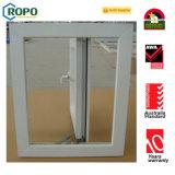 PVC/UPVC 플라스틱 이중 유리를 끼우는 여닫이 창 Windows