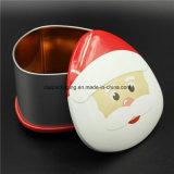 多彩な印刷の金属キャンデーのクリスマスの錫ボックスキャンデー(T001-V20)