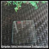 verre de flotteur Polished d'espace libre de bord de R-Angle de 4mm