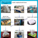 Высокое качество упаковки цветов ткани и бумаги туалетной бумаги производственной линии