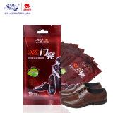 Дешевые хороший Quanlity Custom башмак поверхностей салфетки, кожаную обувь чистой влажной салфетки для обуви