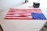 De Handdoek van het Strand van de Vlag van Amerika van Microfiber