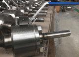 Robinet à tournant sphérique métal sur métal de portée de tailles importantes
