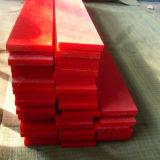 Fábrica china UHMWPE tiras de desgaste de plástico antiestático Flexible / UHMW PE Bar