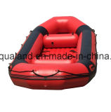 Aqualand Inflatable River Raft /PVC Rubber Boat 또는 Fishing/Drifting/Rescue/Rowing Boat (rr320-rr520)