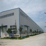 Prefabricados de estructura de acero de la luz de almacén con certificado CE