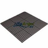 Stuoia antiscorrimento del pavimento della stuoia della stuoia di gomma di gomma esterna di drenaggio