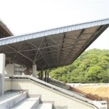 Große Überspannungs-vorfabriziertes Stahlgebäude