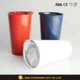 Tasse en céramique de vente chaude de café d'étiquette de produits des Etats-Unis