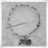 La religione colorata descrive il braccialetto del rosario del san del metallo (IO-CB138)