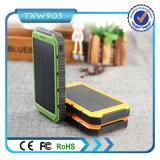 De dubbele Bank van de Macht van de Bank 10000mAh van de ZonneMacht van de Lader van de Batterij USB Externe Reserve Draagbare voor de Telefoon van de Cel