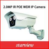macchina fotografica impermeabile del IP di obbligazione del CCTV del richiamo di 2.0MP WDR Poe IR