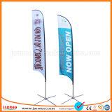 Salon trois drapeaux de promotion de la couche de plumes