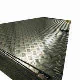 Anti-Slip 지면에 의하여 직류 전기를 통하는 Checkered 강철 플레이트 가격