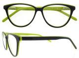 Frame van de Glazen van het Oog van Eyewear van de Manier van het Frame van het schouwspel het Buitensporige