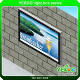 Quiosco publicitario montado en la pared LCD de la alameda de compras que hace publicidad de la visualización
