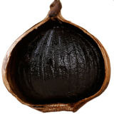 [6كم] كاملة يتخمّر يقشر ثوم وحيدة أسود ([500غ/بغ]) مع [فدا]