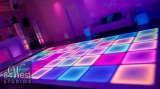 Volledige het LEIDENE van het Gehard glas van de Kleur Verven Dance Floor voor de Disco van de Staaf van de Partij van het Huwelijk