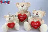 China Fabricado Big Feet ursinho de brinquedo com coração vermelho Bos1118