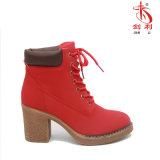 Ботинки лодыжки платформы ботинок сексуальных женщин напольные для повелительниц способа (AB651)