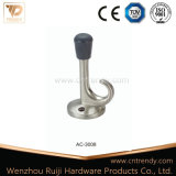 훅 (AC-3007)를 가진 문 부속품 금속 아연 합금 문 마개
