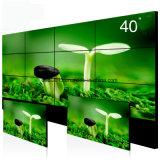 """3X3 47"""" cadre 4.9mm mince paroi vidéo LCD avec support permanent de plancher"""