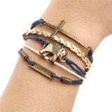 De uitstekende Multilayer Armband van het Leer van de Charme voor Vrouwen