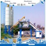 planta de procesamiento por lotes por lotes concreta automática Hzs75 de la alta calidad 75m3/H