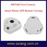 360 Grau 3 LEDs de infravermelho câmara panorâmica de intercomunicação de 2 vias vista completa câmara IP WiFi
