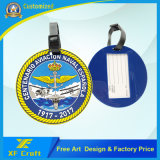 Производитель индивидуального дизайна логотипа пластиковые/Мягкий ПВХ тег индекса для багажного отделения имя держателя подушки безопасности (LT09-B)
