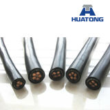 XLPE изолировало силовой кабель стального провода Armored обшитый PVC