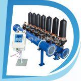 물 여과 시스템 모래 필터 점적 관수 시스템 미크론 자동적인 역류 급수 여과기 각자 청소 Fiter 물 정화기