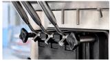 Тележка/тележка еды силы электрического источника относящие к окружающей среде передвижные