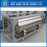 Kälteerzeugendes flüssiger Stickstoff-Sauerstoff-Argondewar-Becken