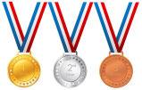 De hete Medaille van het Kampioenschap van de Douane met het Verschepen van de Daling