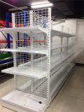La malla de alambre de acero en frío de estante de la pantalla del almacén de estanterías de supermercados