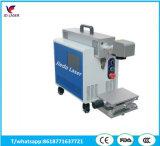 모든 물자를 위한 소형 휴대용 섬유 Laser Marking&Engraving 기계