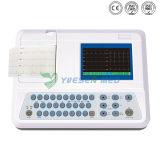 Médico Hospitalar barato máquina de ECG Portátil Digital