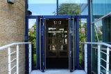 Двойное остекление окон и алюминиевых дверная рама перемещена двери