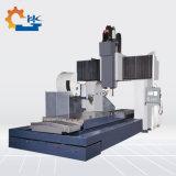 Coluna dupla vertical do centro de maquinagem CNC do Gantry