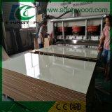 MDF, толщина 18mm, прокатанная клеем бумага меламина E2 для мебели