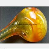 6.3 Zoll-Glaswasser-Rohr des gelben Löffels Rohr formend