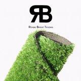 tapete artificial sintético ajardinando da grama do relvado do gramado da decoração de 15mm