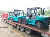 건축 적재용 트럭 무거운 짐 디젤 10 톤 포크리프트
