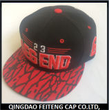 주문 High Quality Embroidery Snapback Cap 및 Hat