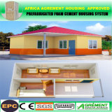 Casa prefabricada modular prefabricada de las vacaciones de la playa del chalet del envase de la estructura de acero